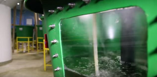 水の浄化設備