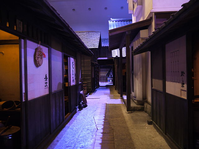 江戸時代の長屋