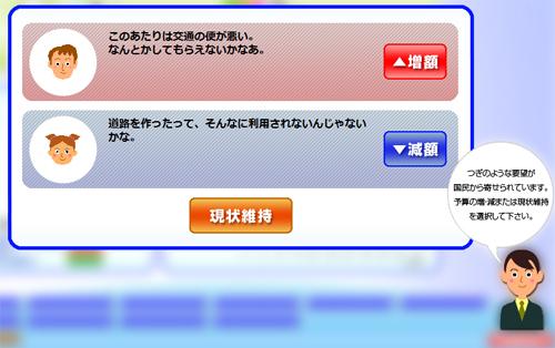 日本の黒字化を実現するゲーム