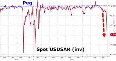 サウジアラビアの通貨と金利